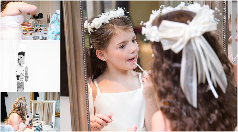 Kupec Wedding bridal suite flower girl CT MA Photographer