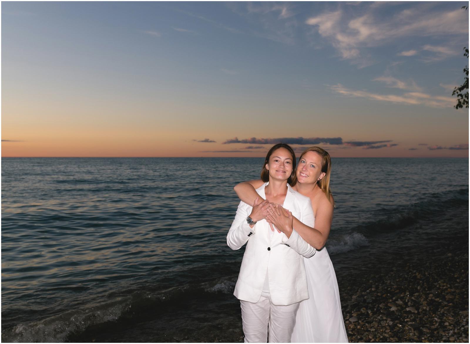 bride and bride beach