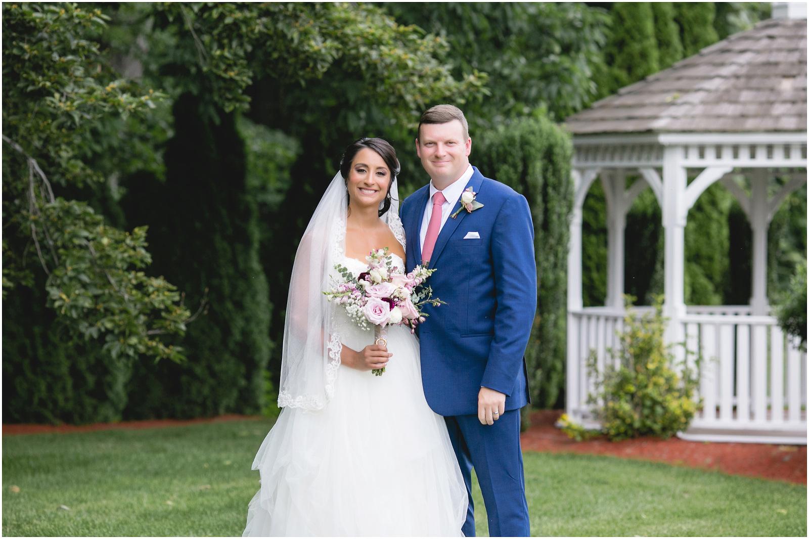 bride and groom maneeley's gazebo