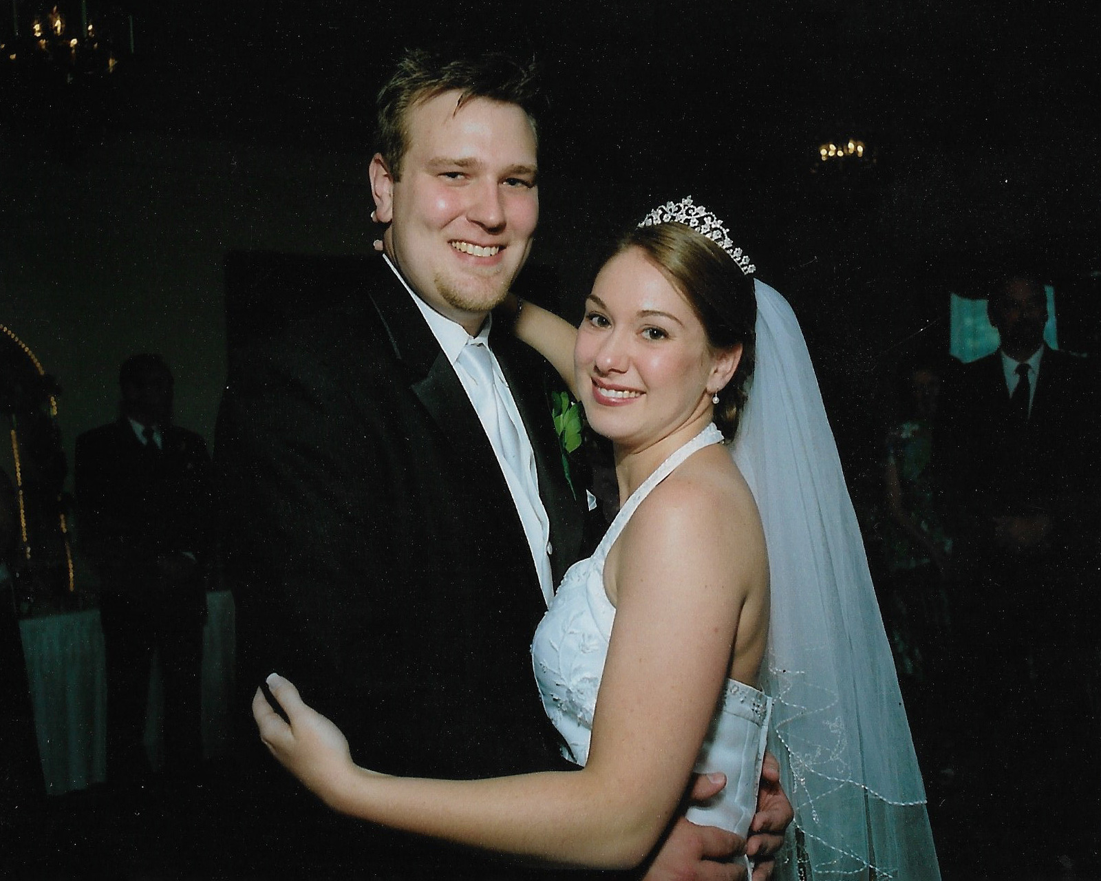our wedding melanie brian